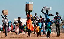 População do Sudão do Sul ganhou a independência há dez anos, mas ainda sofre sem paz (Anita Kattakhuzy/Oxfam)