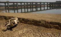 Seca no Brasil é a pior em mais de 90 anos e tendência de extremos deve se repetir (AFP)