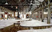 Área interna do Sesc Pompeia, edifício na capital paulista e centro cultural (ArquicteturaViva/Reprodução)