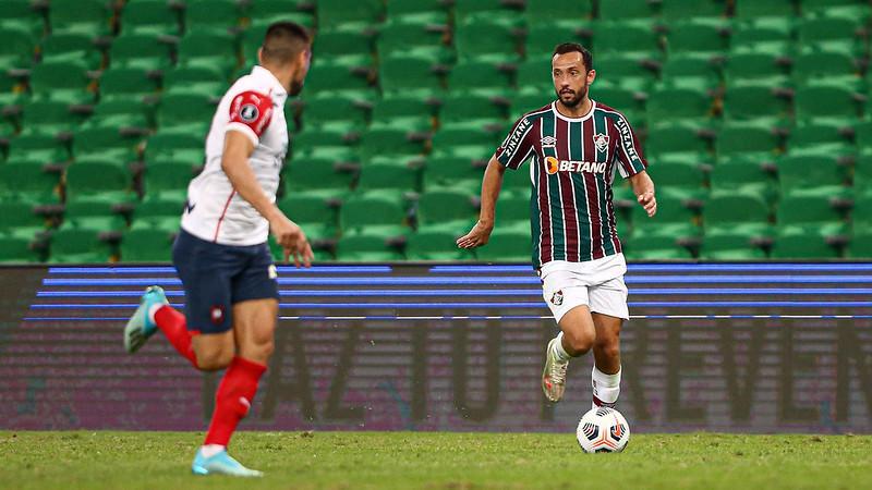 Fred marcou o gol do Fluminense no jogo