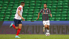 Fred marcou o gol do Fluminense no jogo (Lucas Merçon/ Fluminense)