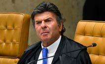 O presidente do STF, Luiz Fux, a quem foi endereçada a carta-manifesto de acadêmicos alemães (Carlos Moura/SCO/STF)