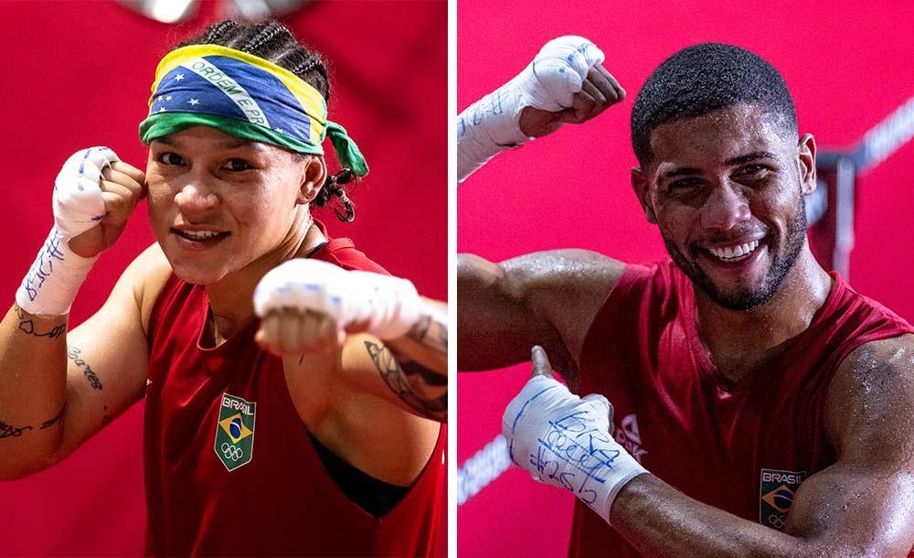 Bia Ferreira e Hebert vão disputar medalhas de ouro em Tóquio