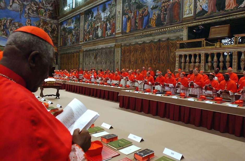 Conclave de 2005, que elegeu Bento XVI