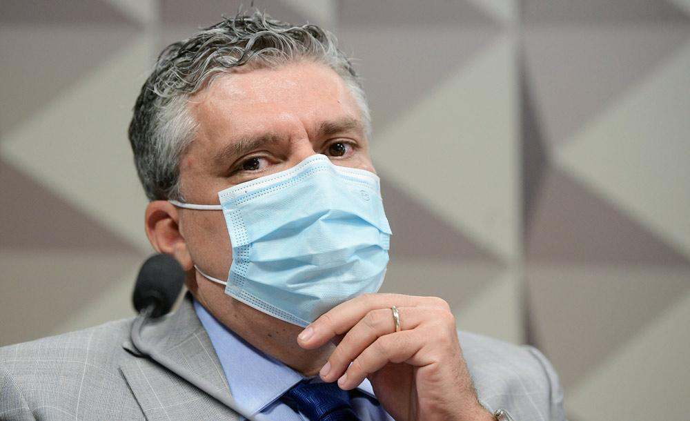 O diretor da FIB Bank, Roberto Pereira Ramos deixou várias lacunas em seu depoimento na CPI