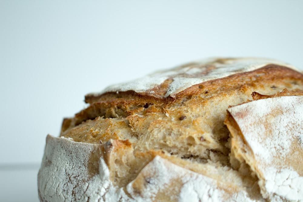 O alimento do pão sustenta, anima e dá coragem