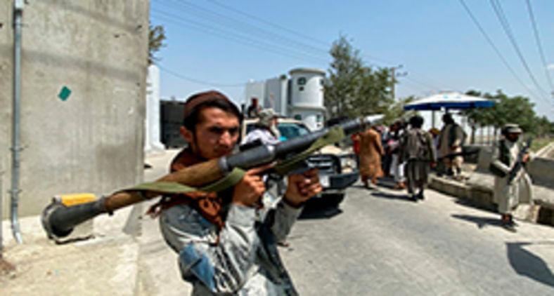 Durante os anos na clandestinidade, os talibãs tinham preparado tudo (Javed Tanveer/AFP)