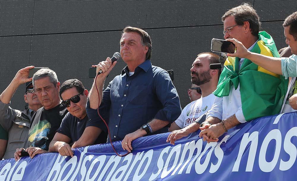 O aumento do tom de Bolsonaro, no entanto, provocou pressão por uma resposta mais dura no Legislativo.