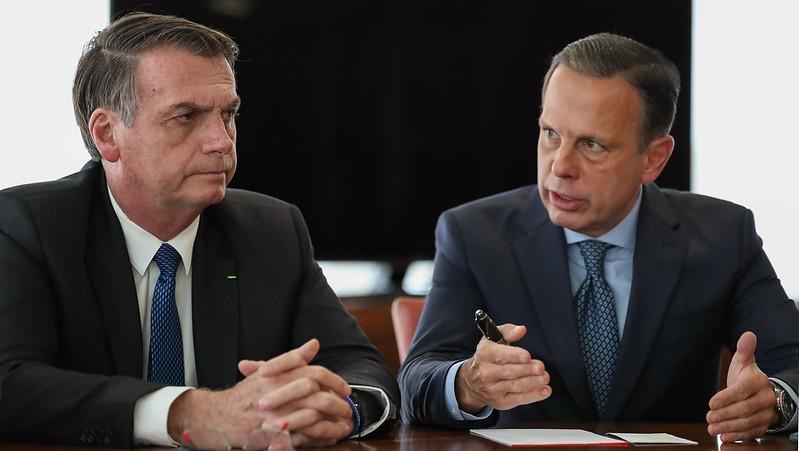 'Grande dia', ironizou o governador de São Paulo
