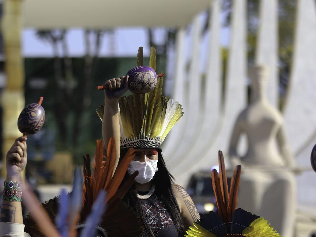 Povos indígenas acompanham julgamento no Supremo