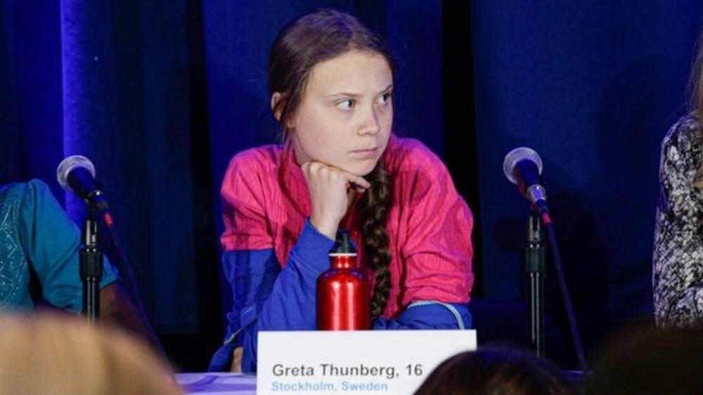 Ativista debateu sobre resultados do Painel Intergovernamental sobre Mudanças Climáticas
