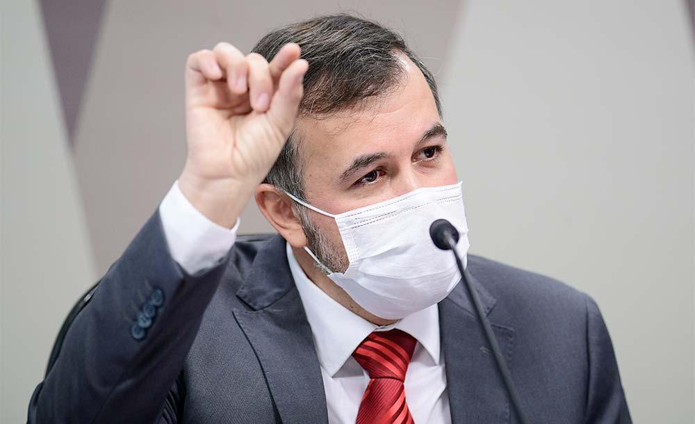 Alexandre Figueiredo Costa Silva teve que se explicar na CPI do Senado