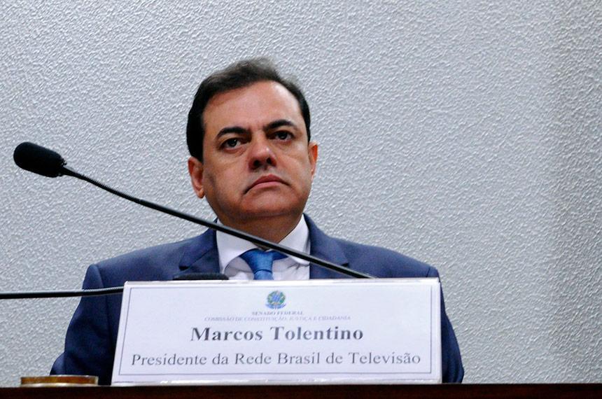 Dono da Rede Brasil de Televisão, Marcos Tolentino é suspeito de ser um 'sócio oculto' da empresa FIB Bank