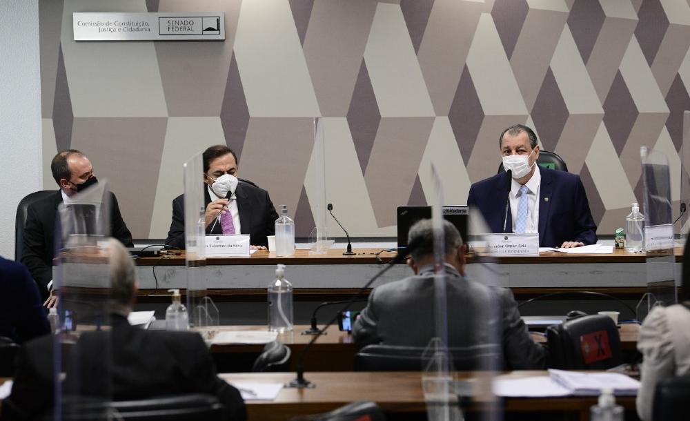 Depoimento de Marcos Tolentino da Silva,dono da Rede Brasil de Televisão e suspeito de ser sócio oculto da empresa FIB Bank