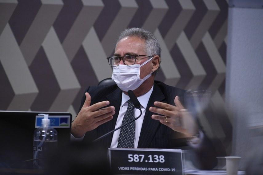 Renan Calheiros não quer deixar decisão sobre  impeachment somente nas mãos do presidente da Câmara