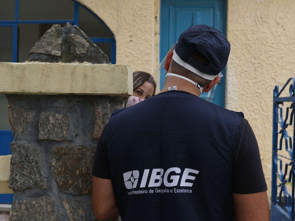 O IBGE faz primeiro teste preparatório do Censo Demográfico 2022