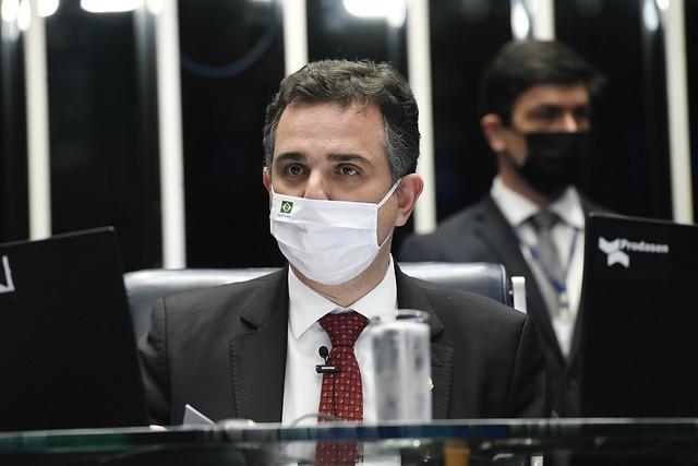 Senador Rodrigo Pacheco tomou a decisão nesta terça-feira