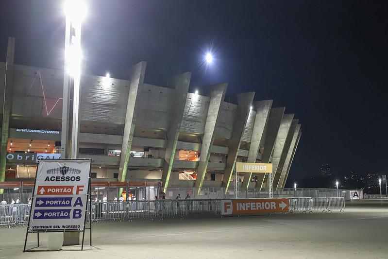 Estádio Mineirão está liberado para receber torcedores