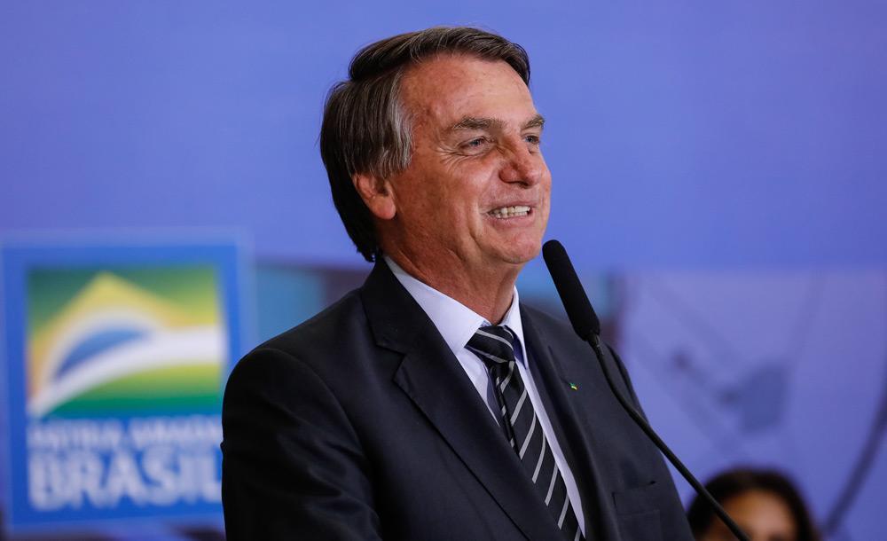 O presidente participa de solenidade de entrega do Prêmio Marechal Rondon, no Palácio do Planalto