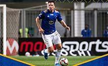 Após cobrança de escanteio, a bola sobrou para Ramon deixar tudo igual. (Cruzeiro/Divulgação)