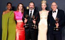 """Josh O'Connor, ganhador do Emmy de melhor ator de série dramática por seu papel em """"The Crown"""" (Rich Fury/AFP)"""