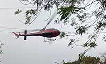Piloto fez manobras bruscas para alertar os militares (Reprodução)