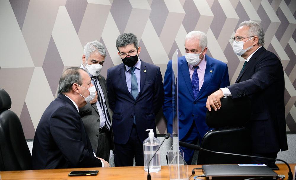 A cúpula da CPI da Covid discute os próximos passos da investigação, que se aproxima do fim