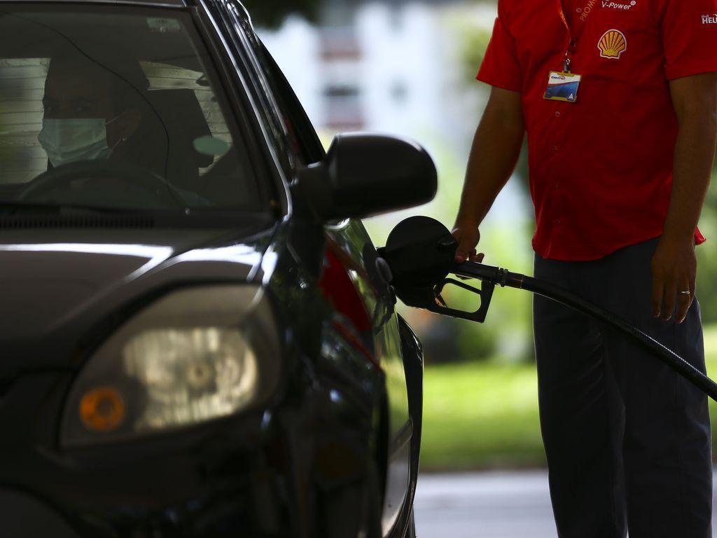 Reajuste da gasolina do Brasil é baseado no mercado internacional