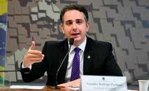 Nome de Rodrigo Pacheco ganha força como terceira via para 2022 (Edilson Rodrigues/Agência Senado)