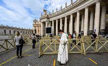 Basílica de São Pedro, na Cidade do Vaticano (Vincenzo Pinto/AFP)