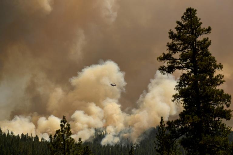 Incêndio Dixie perto de Susanville, na Califórnia: dados alarmantes