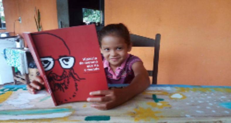 MST participa da celebração e cortejo em defesa da educação e do legado de Paulo Freire em Belém do Pará na manhã do dia 19 de setembro (Brenda Balieiro)