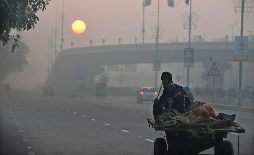 OMS disse que a poluição do ar é tão prejudicial à saúde humana quanto fumar e se alimentar mal