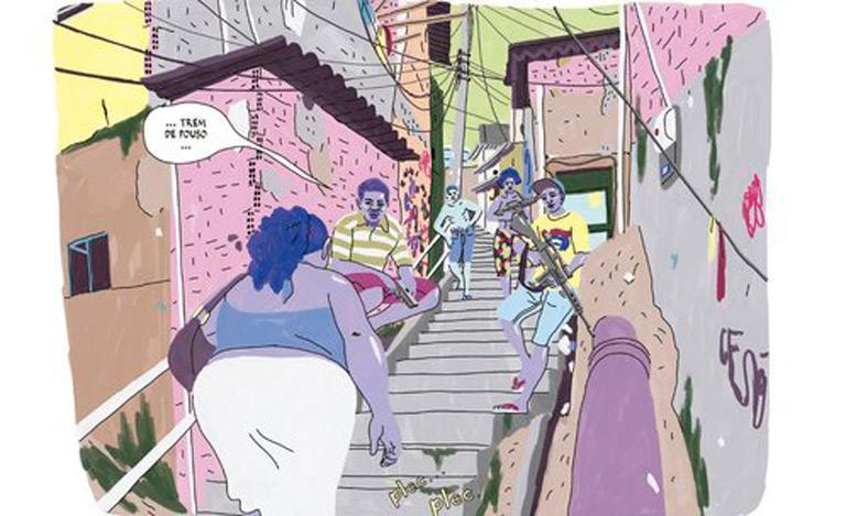 Obra retrata com aspereza o dia a dia de Márcia numa comunidade pobre do Rio