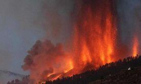 Vulcão está localizado na ilha espanhola de La Palma, arquipélago das Canárias (AFP)