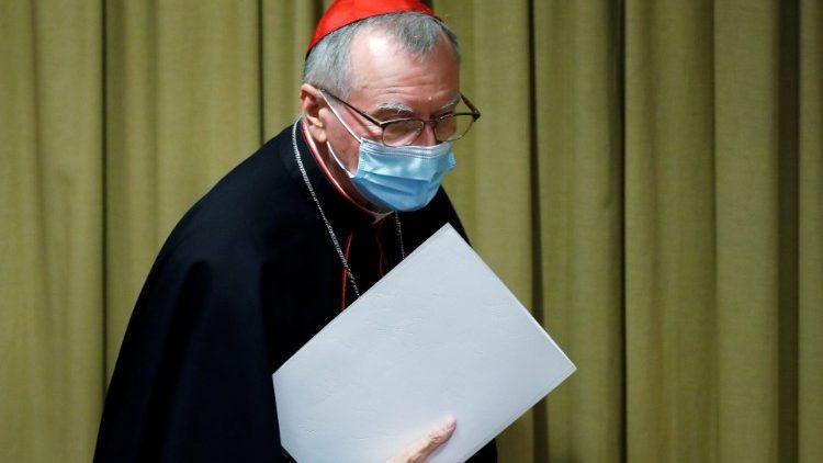 Cardeal secretário de Estado Pietro Parolin