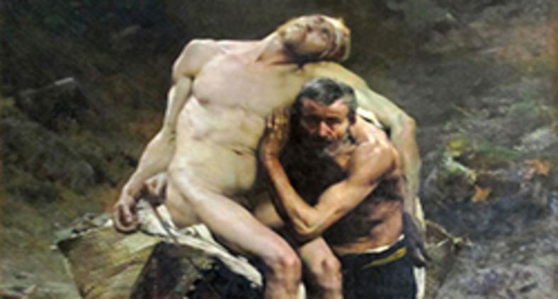 A figura do bom samaritano nos lança diante de um apelo e de exigências radicais. A dignidade humana é um valor inegociável. Na foto, 'O bom samaritano' de Aimé Morot. (Marc Baronnet/Wikimedia)