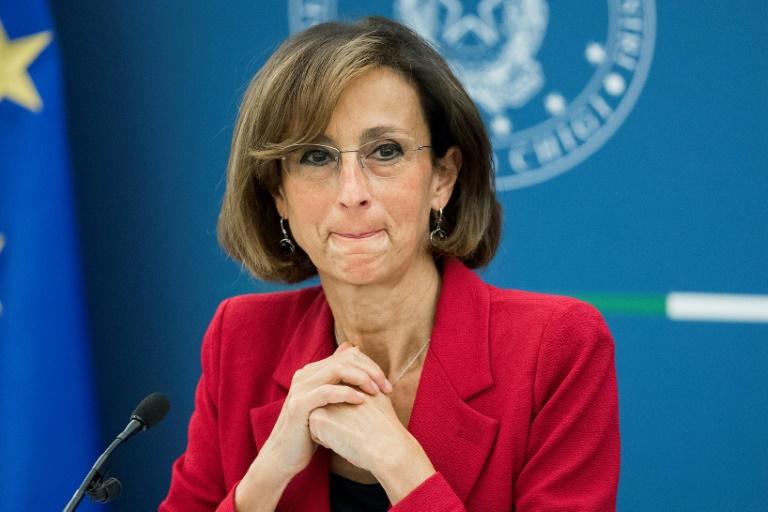 A ministra italiana da Justiça, Marta Cartabia