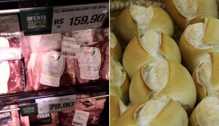 Disparada nos preços do alimentos tira comida da mesa dos pobres