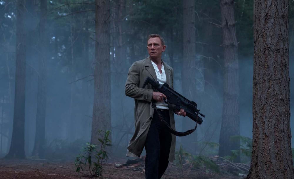 Daniel Craig em cena de '007 - Sem tempo para morrer'