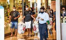 Consumo deve ser freado com alta da taxa Selic, mas com pouco impacto em 2021 (Evaristo Sá/AFP)