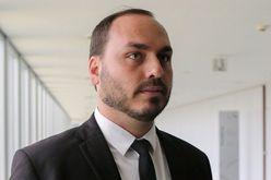 Filho do presidente Bolsonaro está na mira do Ministério Público (Sérgio Lima/AFP)