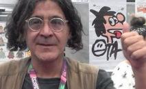 O cartunista também trabalhou no Jornal do Brasil e na Folha Dirigida, além de criar um canal no YouTube, o OtaTube, onde apresentava vídeos satíricos (Reprodução)