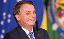 O presidente, de 66 anos, afirma não estar vacinado contra a Covid-19 e já repetiu várias vezes que será 'o último' brasileiro a receber o imunizante (Evaristo Sá/AFP)