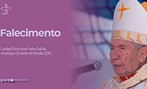 O cardeal dom José Freire Falcão foi o segundo arcebispo de Brasília, ficando à frente da arquidiocese entre 1984 e 2004, quando se aposentou (CNBB)