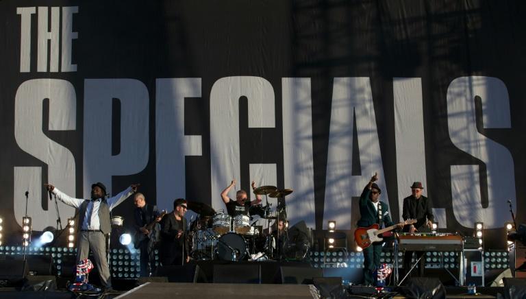 Apresentação do grupo The Specials no Hyde Park, Londres, em  2012