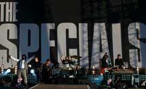 Apresentação do grupo The Specials no Hyde Park, Londres, em  2012 (Andrew Cowie/AFP)