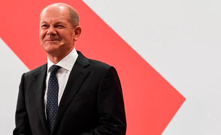 O candidato do SPD Olaf Scholz terá uma dura tarefa para formar o novo governo