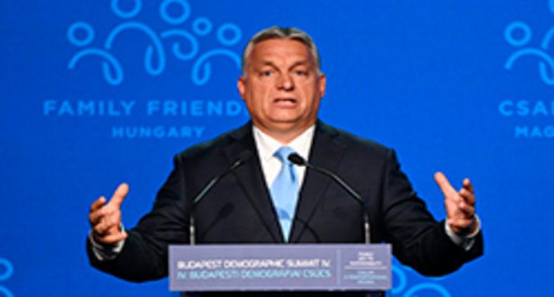 Relatório de 2020 considerou que a Hungria, de Viktor Orban, não encaixa mais na definição de democracia. (Attila Kisbenedek/AFP)