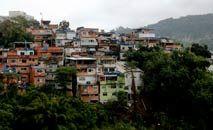 Moradores de favelas relataram ter vivenciado ou ouvido tiroteios de suas próprias casas (Tânia Rêgo/ABr)